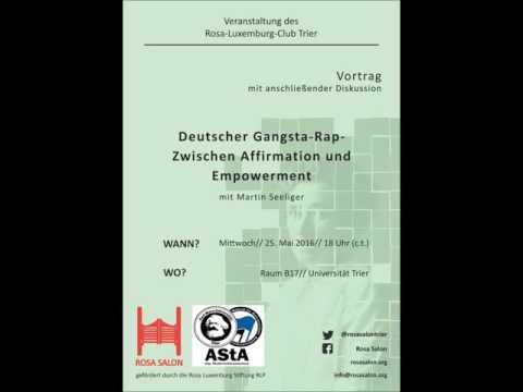 Martin Seeliger: Deutscher Gangsta-Rap - Zwischen Affirmation und Empowerment