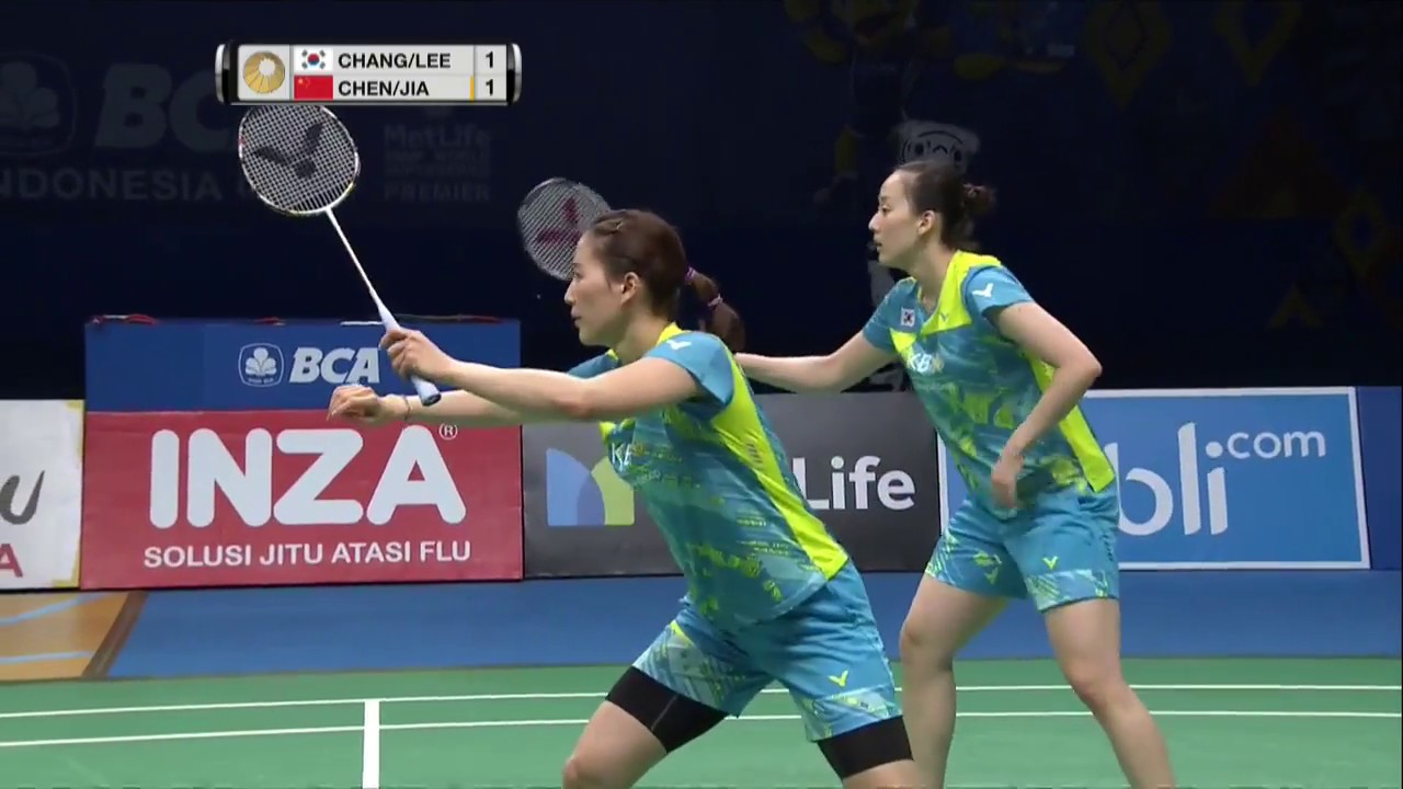 Bca Indonesia Open  Badminton F M Wd Changlee Vs Chenjia