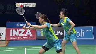 BCA Indonesia Open 2017 | Badminton F M1-WD | Chang/Lee Vs Chen/Jia