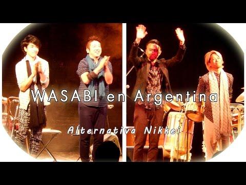 Show del grupo WASABI: música tradicional/contemporánea de Japón