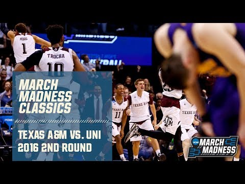 Texas A&M Vs. Northern Iowa: 2016 Second Round | FULL GAME