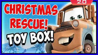 Disney Infinity 2 Toy Box Adventures! Mater's Christmas Rescue