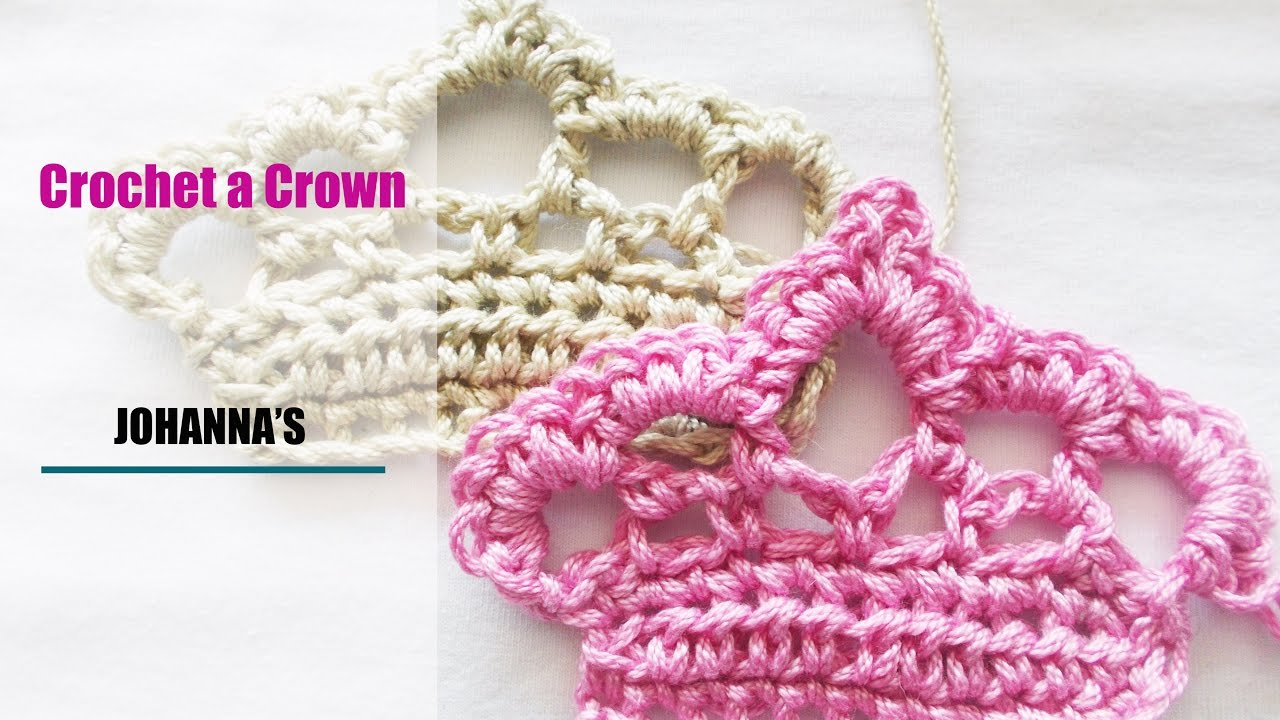 Crochet A Crown Youtube