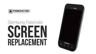 Samsung Fascinate i500 LCD Screen Repair Guide