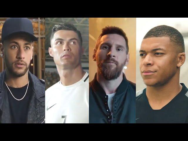 Cristiano Ronaldo●Lionel Messi●Neymar Jr●Mo Salah●Mbappe ● Best Commercial Compilation