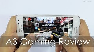 Samsung Galaxy A3 Smartphone Gaming Review