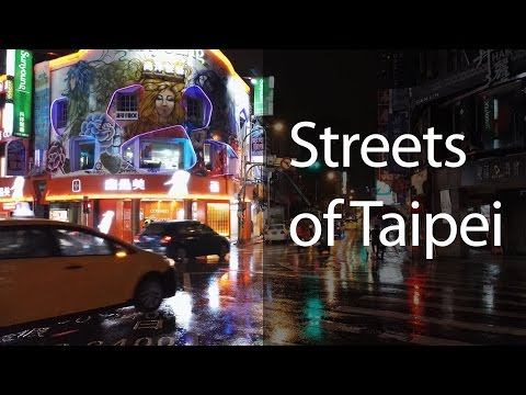 Streets of Taipei - Night street photography with the Honor 7