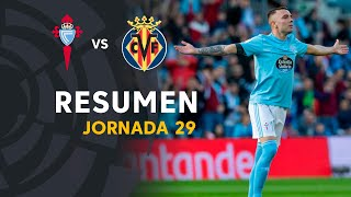 Resumen de RC Celta vs Villarreal CF (3-2)