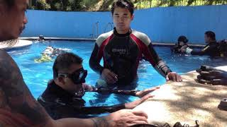 Freediving with Vince and Ariel