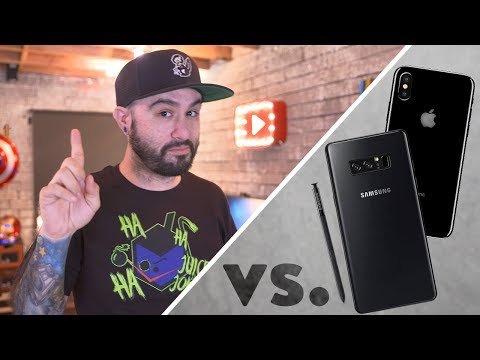 Download Youtube: Galaxy Note 8 vs iPhone 8?! - #AskDom 7.0