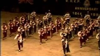 Repeat youtube video 皇家香港警察150週年軍操滙演 Part 1