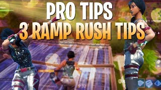 BEST TIPS TO BEAT RAMP RUSHERS! FORTNITE TIPS HOW TO WIN #17