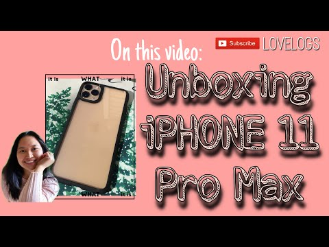 Unboxing My New IPhone 11 Pro Max