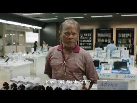 Smart CCTV ad in Thailand