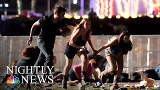 Las Vegas Attack: Survivors Describe Sunday's Horrific Mass Shooting | NBC Nightly News
