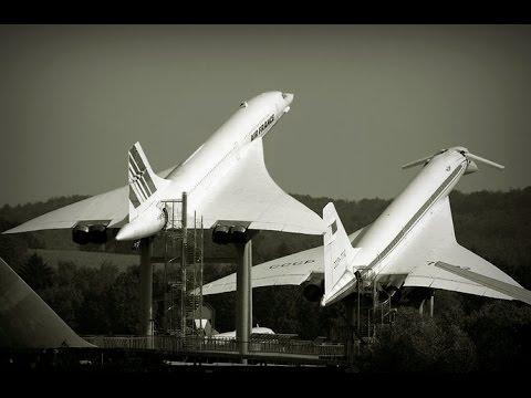 Tu-144 vs Concorde