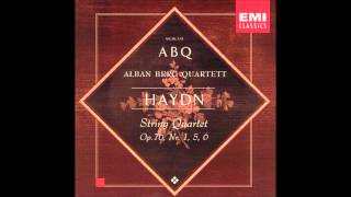 Haydn string quartets op.76 no 1, no 5