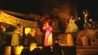 Bride Auction scene on Pirates of the Caribbean FINAL NIGHT at Disneyland