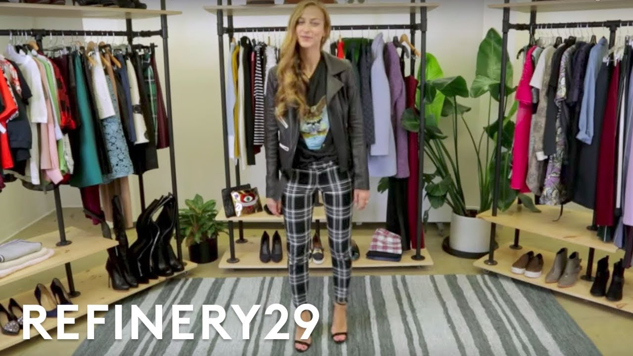 3 Ways To Wear Plaid Pants Everywhere | Trend Takeout | Refinery29 ...