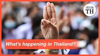 Why are Thai students protesting?