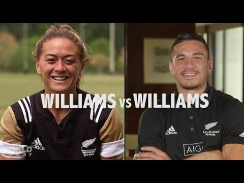 Williams vs. Williams: Rugby rivals