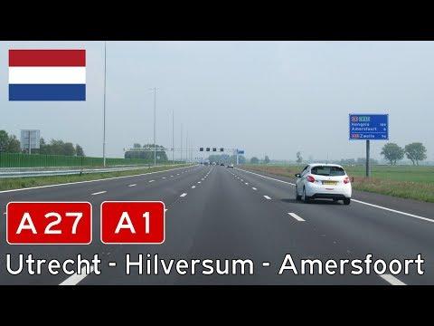 A27 + A1, Utrecht - Hilversum - Amersfoort, NL