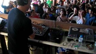 Sasha playing Spektrums-Kinda New Tiefschwarz remix @ Cavo Paradiso, Mykonos 8am