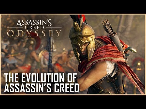 Assassin's Creed Odyssey: The Evolution of Assassin's Creed - E3 2018 Gameplay   News   Ubisoft [NA]