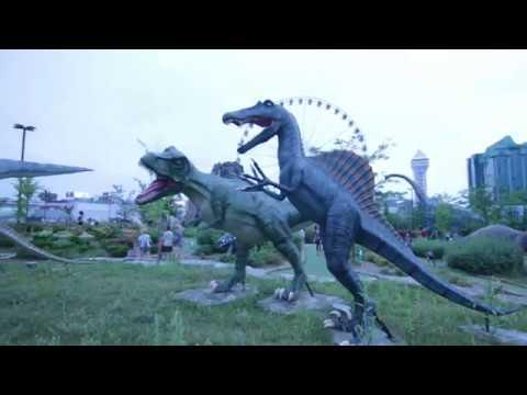 Dinosaur Adventure Golf In Niagara Falls For Family Fun