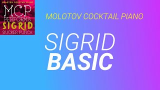Basic ⬥ Sigrid 🎹 cover by Molotov Cocktail Piano