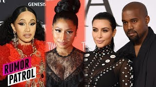 Cardi B REIGNITES Nicki Minaj Feud?! Kanye West DIVORCING Kim & Taking Saint?! (Rumor Patrol)