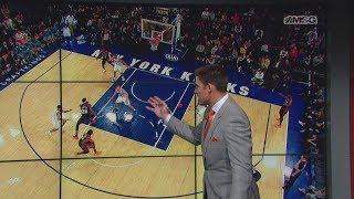 Wally Wall: Tremendous Plays From Ntilikina & Knox | New York Knicks Post Game