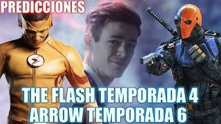 The Flash Temporada 4 / Arrow Temporada 6 - Predicciones y Espectativas // Morpho Comics