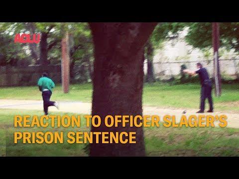 Reaction To Officer Slager's Prison Sentence