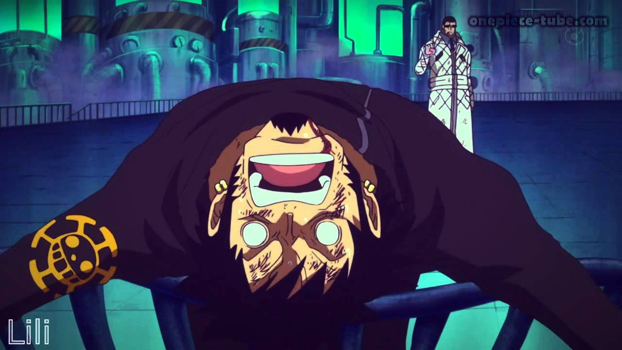 One Piece AMV | Trafalgar Law vs Smoker [Punk Hazard] - YouTube