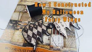 How I Make My OOAK Halloween Doll Fairy Wings Custom Tutorial by Skeriosities