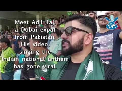 Dubai expat from Pakistan sings Indian national anthem, goes viral