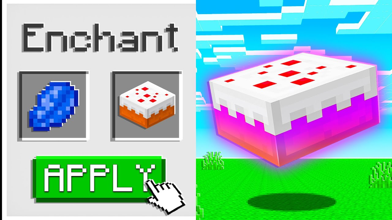 Minecraft But You Can Enchant Food...