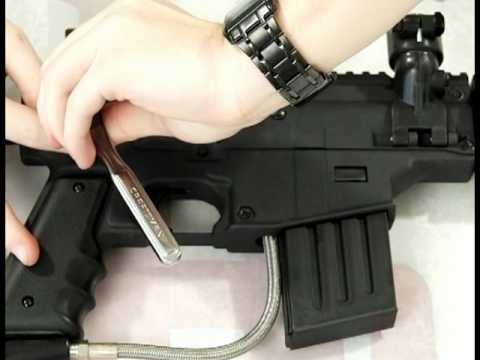 How to Install a Response Trigger on a Tippmann US Army Project Salvo by HustlePaintball.com