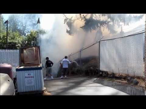 3 Alarm Fire - Multiple Structures - Grants Pass, Oregon