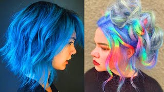 Hairdressers Guide To C๐loring Your Own Hair! Hot Summer Trending Hair Color Compilation 2020
