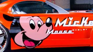 Midnight Club Los Angeles - Mickey Mouse Cobra Concept Tuning HD