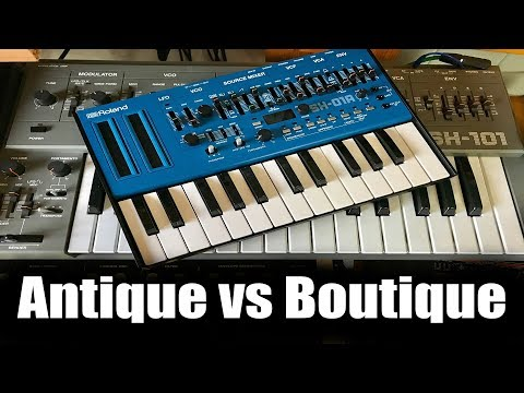 Roland Boutique SH-01A vs Antique SH-101