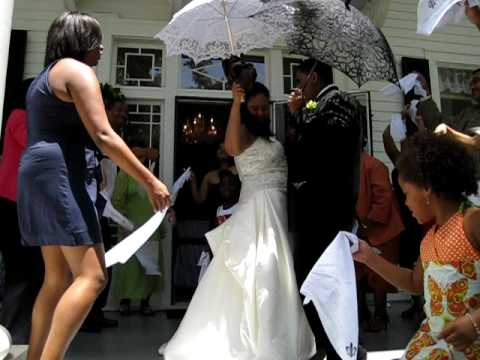 The the second line wedding dance!
