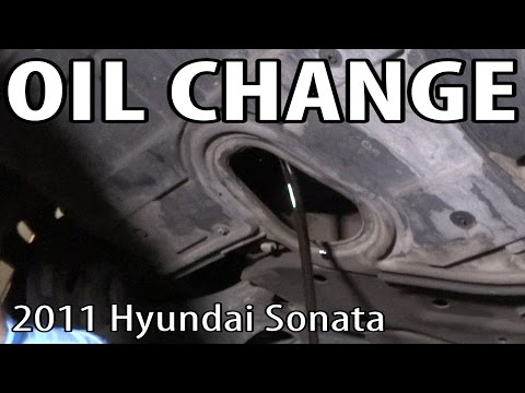 oil change filter replacement hyundai sonata 2009 2014 doovi. Black Bedroom Furniture Sets. Home Design Ideas