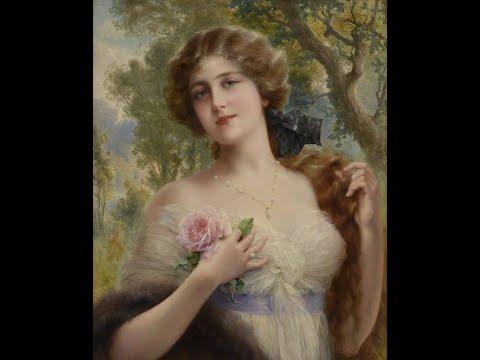 Émile Vernon (1872-1919) - French artist ✽ Giovanni Marradi - And I Love You So