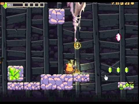 Пещера Хаоса 2 (Cave Chaos 2) - Платформер для мальчиков