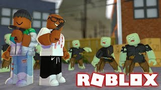 MULTIPLAYER ZOMBIE OUTBREAK IN ROBLOX (Roblox Zombie Blitz)