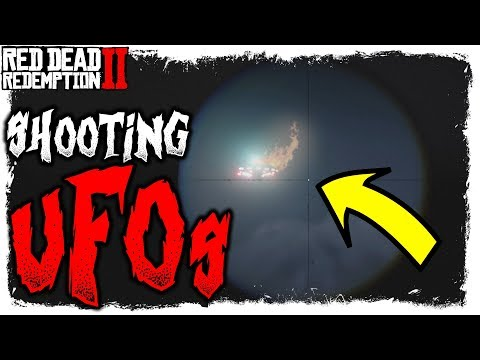 SHOOTING DOWN A UFO | Red Dead Redemption 2 | Easter Eggs thumbnail