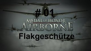 Let's Play Medal of Honor: Airborne #001 - Flakgeschütze (Deutsch,German)